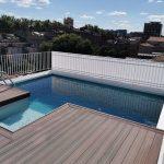 Rénovation piscine sur toit terrasse